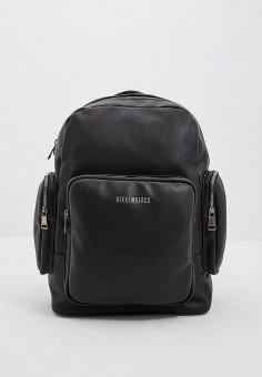 cd47e2a99941 Рюкзак, Bikkembergs, цвет: черный. Артикул: BI535BMEQZP5. Premium /  Аксессуары /