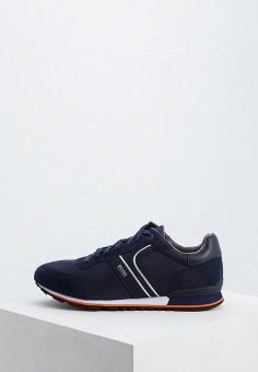 2fb0db25f982c2 Кроссовки, Boss Hugo Boss, цвет: синий. Артикул: BO010AMFWQP3. Обувь