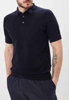 c0faf4a65a7941f Поло, Boss Hugo Boss, цвет: черный. Артикул: BO010EMFDJX6. Premium /