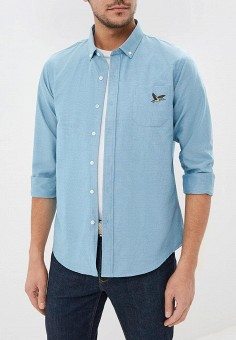 990585181d528f2 Рубашка, Brave Soul, цвет: бирюзовый. Артикул: BR019EMBSKF5. Одежда /  Рубашки