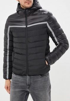 c2d7ca0c5229 Куртка утепленная, Brave Soul, цвет  черный. Артикул  BR019EMBSLV2. Одежда