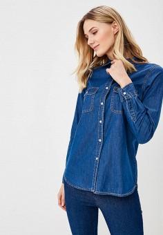 f06f6930c316d Рубашка джинсовая, Brave Soul, цвет: синий. Артикул: BR019EWAVLV7. Одежда /