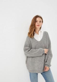 Пуловер, Brave Soul, цвет  серый. Артикул  BR019EWBSNN7. Brave Soul 25296232896