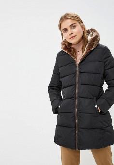 Куртка утепленная, Bruebeck, цвет  черный. Артикул  BR028EWDCXZ1. Одежда    Верхняя 0d91997e978