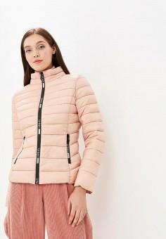 Куртка утепленная, B.Style, цвет  бежевый. Артикул  BS002EWCNGI1. B 8431cce4d74