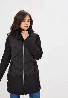 Куртка утепленная, B.Style, цвет  черный. Артикул  BS002EWCRTM1. Одежда 7a9f7e41903