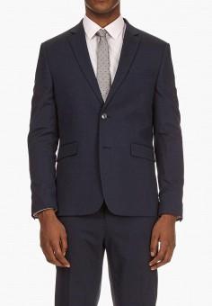 Пиджак, Burton Menswear London, цвет  синий. Артикул  BU014EMCSGF7. Одежда   9d8c9e32a35