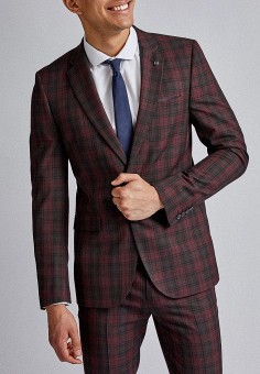 Пиджак, Burton Menswear London, цвет: мультиколор. Артикул: BU014EMGSWO3. Одежда / Пиджаки и костюмы