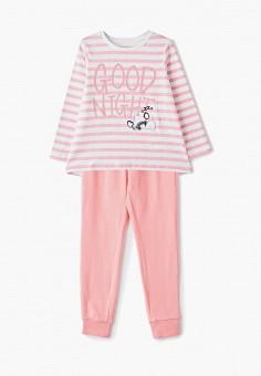 6329100e0e9d Пижама, Button Blue, цвет: белый, розовый. Артикул: BU019EGFSMQ0. Девочкам