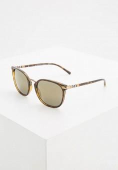 c780c04a8e90 Очки солнцезащитные, Burberry, цвет  коричневый. Артикул  BU034DWYZY81.  Аксессуары   Очки