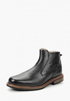 c433432c17b71e Ботинки, Bugatti, цвет: черный. Артикул: BU182AMBSWV0. Обувь / Ботинки /