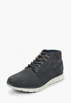 efd60cb79330c8 Ботинки, Bugatti, цвет: синий. Артикул: BU182AMBSYW1. Обувь / Ботинки /