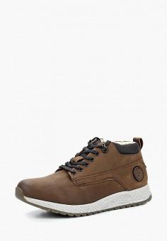 02ff6c73e83502 Ботинки, Bugatti, цвет: коричневый. Артикул: BU182AMBSYW2. Обувь / Ботинки /