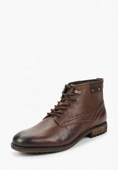 de0bacc14749f5 Ботинки, Bugatti, цвет: коричневый. Артикул: BU182AMBSYX8. Обувь / Ботинки /