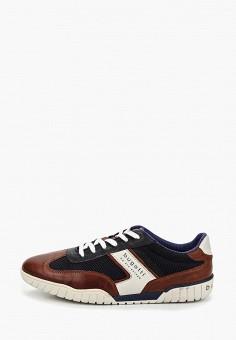 9c4292279 Кроссовки, Bugatti, цвет: коричневый. Артикул: BU182AMEDLR2. Обувь /  Кроссовки и
