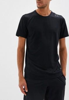 25c40e3bbf82b Футболка спортивная, Calvin Klein Performance, цвет: черный. Артикул:  CA102EMFGKO4. Одежда