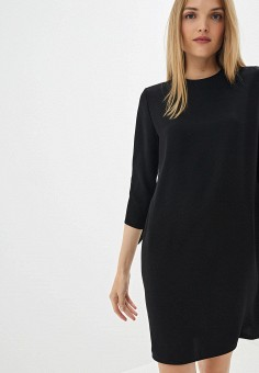 eac0f952237b9 Платье, Calvin Klein, цвет: черный. Артикул: CA105EWFGWR5. Calvin Klein