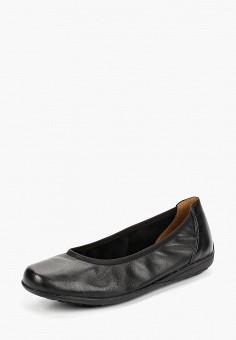 4f43b9e34bc4 Балетки, Caprice, цвет  черный. Артикул  CA107AWCIXZ7. Обувь   Балетки