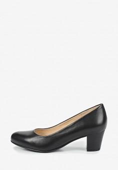 780e39f52 Туфли, Caprice, цвет: черный. Артикул: CA107AWDTDS8. Обувь / Туфли