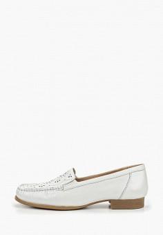 c5bfcdce1 Мокасины, Caprice, цвет: белый. Артикул: CA107AWDTFE3. Обувь