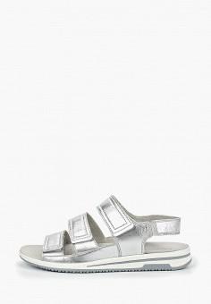 712dacc86 Сандалии, Caprice, цвет: серебряный. Артикул: CA107AWDTPA0. Обувь / Обувь с
