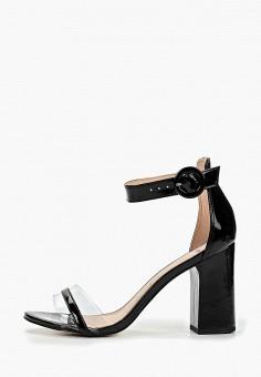 2321684af Босоножки, Calipso, цвет: черный. Артикул: CA549AWERDI9. Обувь / Босоножки