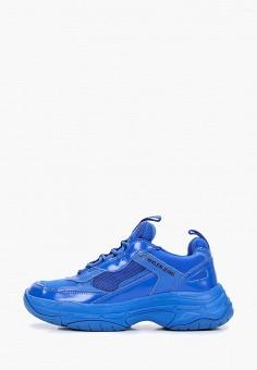 714c5445b Кроссовки, Calvin Klein Jeans, цвет: синий. Артикул: CA939AWETIE8. Обувь