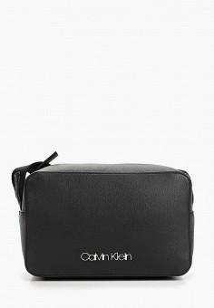 7c68f9041cc6 Сумка, Calvin Klein Jeans, цвет: черный. Артикул: CA939BWETKE0. Аксессуары /