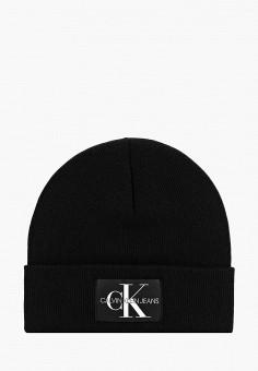 Шапка, Calvin Klein Jeans, цвет  черный. Артикул  CA939CMBTKV6. Аксессуары   f6e0913b563