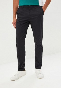50596059 Брюки, Calvin Klein Jeans, цвет: черный. Артикул: CA939EMDUDB1. Одежда /
