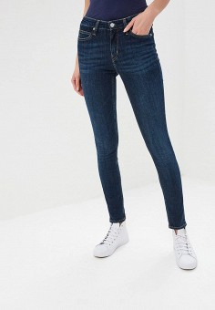 daaa52a613d69 Джинсы, Calvin Klein Jeans, цвет: синий. Артикул: CA939EWDUDD8. Одежда /