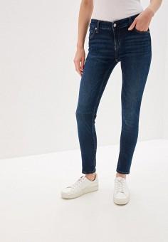5bf0786fe9e9a Джинсы, Calvin Klein Jeans, цвет: синий. Артикул: CA939EWFQXA3. Одежда /