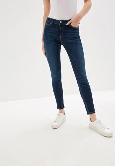 c7cd476afd8bf Джинсы, Calvin Klein Jeans, цвет: синий. Артикул: CA939EWFQXA4. Одежда /