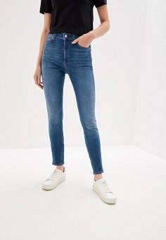 038a6d8ca90d2 Джинсы, Calvin Klein Jeans, цвет: голубой. Артикул: CA939EWFQXA5. Одежда /
