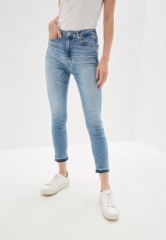 d900471076ac1 Джинсы, Calvin Klein Jeans, цвет: голубой. Артикул: CA939EWFQXA6. Одежда /