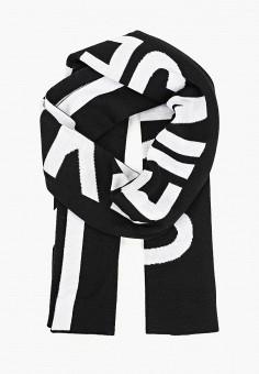 Шарф, Calvin Klein Jeans, цвет  черный. Артикул  CA939GMDUCP5. Аксессуары   20aa6cc6d5a