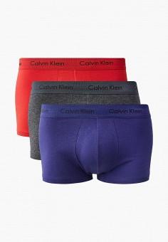 773250a53d9b Комплект, Calvin Klein Underwear, цвет  красный, серый, синий. Артикул