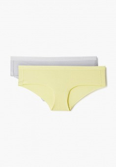 73ae61eef2dfa Комплект, Calvin Klein Underwear, цвет: желтый, серый. Артикул:  CA994EWDUOL4.