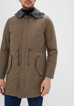 Парка, CC Collection Corneliani, цвет: хаки. Артикул: CC004EMCIWB7. CC Collection Corneliani