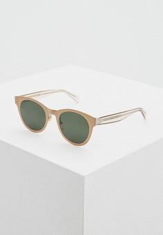 f12cf28fac90 Очки солнцезащитные, Celine, цвет  золотой. Артикул  CE001DWTHP35. Premium    Аксессуары