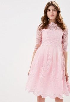 6bffab3d5369 Платье, Chi Chi London, цвет  розовый. Артикул  CH041EWCLOR1. Одежда