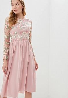 4c04be26ad2075b Платье, Chi Chi London, цвет: розовый. Артикул: CH041EWEWQA7. Одежда /