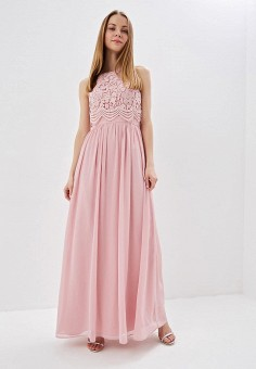 cc06d7a17311584 Платье, Chi Chi London, цвет: розовый. Артикул: CH041EWEWQC0. Одежда /