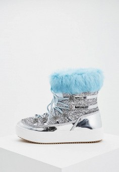 Луноходы, Chiara Ferragni Collection, цвет: серый. Артикул: CH057AWBYXW7. Chiara Ferragni Collection