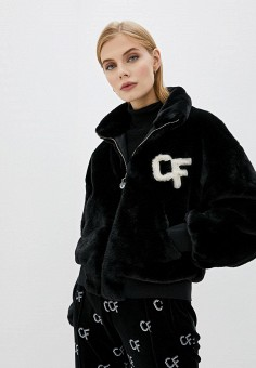 Шуба, Chiara Ferragni Collection, цвет: черный. Артикул: CH057EWFPGG9. Chiara Ferragni Collection