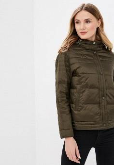 134864053c54e Куртка утепленная, Clasna, цвет: хаки. Артикул: CL016EWEPJO3. Одежда /  Верхняя