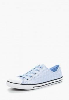 Кеды, Converse, цвет  голубой. Артикул  CO011AWANAS8. Обувь   Кроссовки и 074e0f0fe77
