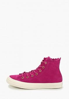 60ad628d Кеды, Converse, цвет: розовый. Артикул: CO011AWEQLZ8. Обувь / Кроссовки и