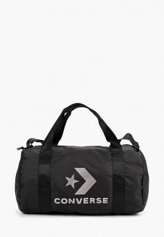 30fab0b327ce Сумка спортивная, Converse, цвет: черный. Артикул: CO011BUCIKC0. Аксессуары  / Сумки