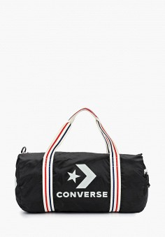 3e7da652fa1a Сумка спортивная, Converse, цвет: черный. Артикул: CO011BUEQMO1. Аксессуары  / Сумки